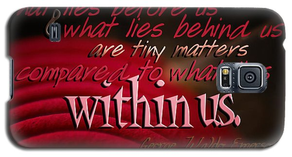 What Lies Within Us Galaxy S5 Case