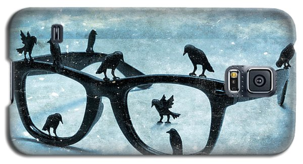 Galaxy S5 Case featuring the photograph What The Crows Found by Jeff  Gettis