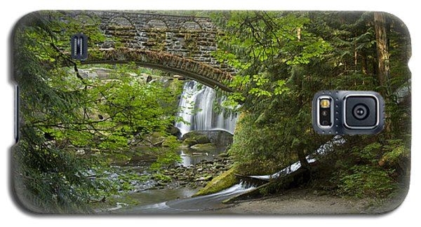 Whatcom Falls Bridge Galaxy S5 Case