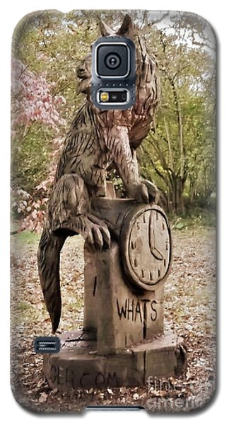 Whats The Time Mr Wolf Galaxy S5 Case by John Williams