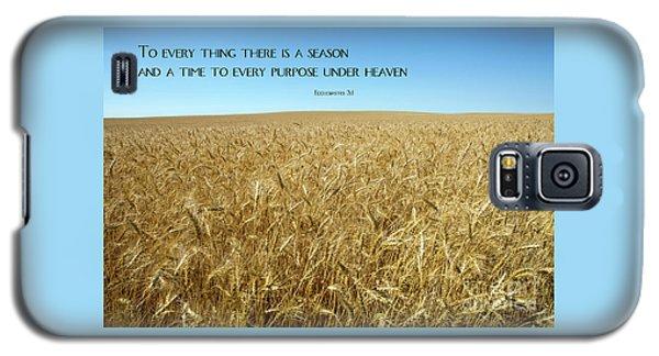 Wheat Field Harvest Season Galaxy S5 Case
