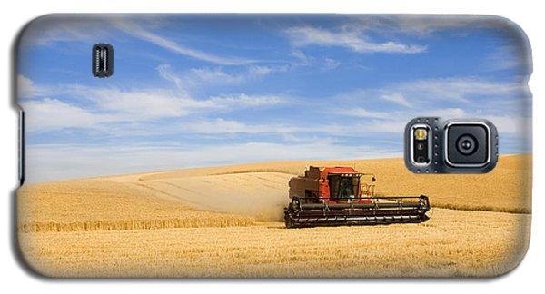 Wheat Harvest Galaxy S5 Case