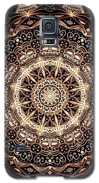 Wheel Of Life Mandala Galaxy S5 Case