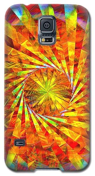 Wheel Of Light Galaxy S5 Case