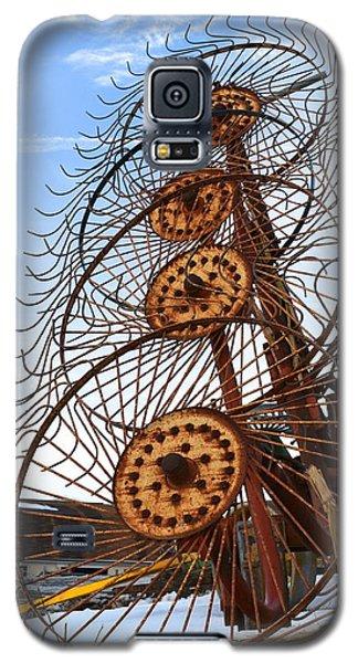 Wheel Rake Upside Down Galaxy S5 Case