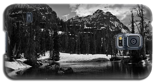 Whelp Lake, Mission Mountains Galaxy S5 Case