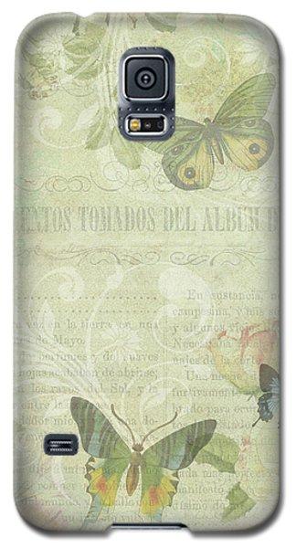 When A Butterfly Dreams Galaxy S5 Case