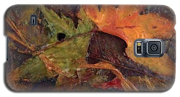 Galaxy S5 Case featuring the painting When Autumn Comes... by Helen Harris