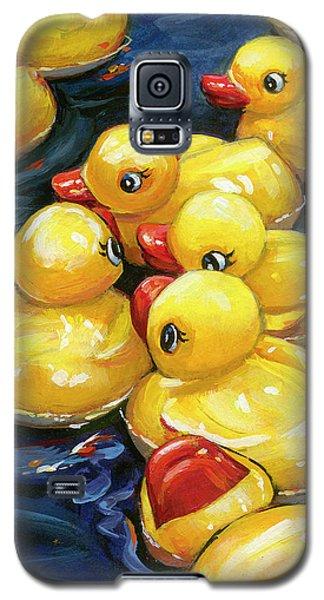 When Ducks Gossip Galaxy S5 Case