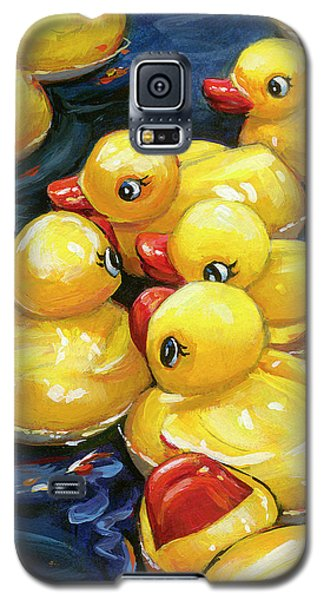 When Ducks Gossip Galaxy S5 Case