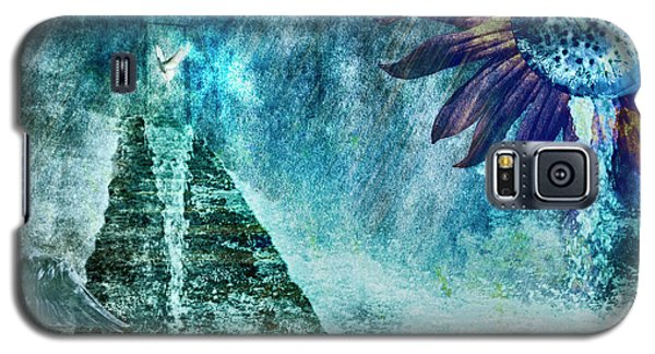 Galaxy S5 Case featuring the photograph When Heaven Cries by Yvonne Emerson AKA RavenSoul