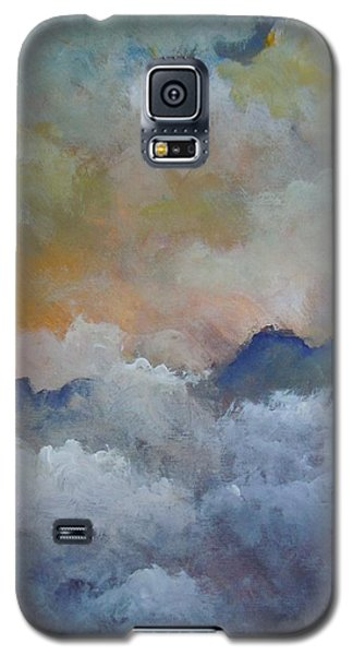 Galaxy S5 Case featuring the painting When I Consider Your Heavens Psalm 8 by Dan Whittemore