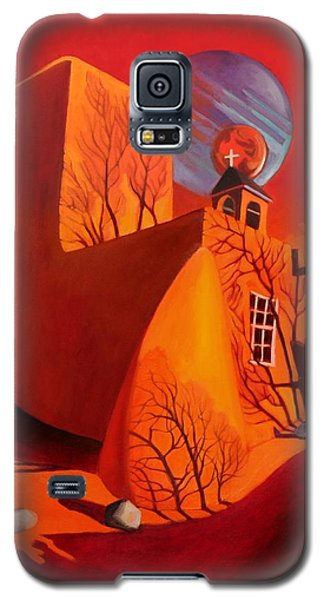 Galaxy S5 Case featuring the painting When Jupiter Aligns With Mars by Art West