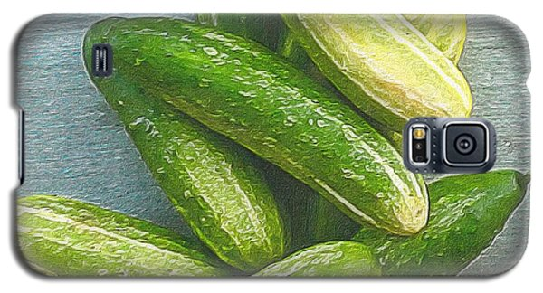When Life Brings You Cucumbers Galaxy S5 Case