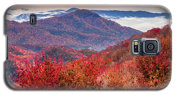 Galaxy S5 Case featuring the photograph When Mountains Sing by Karen Wiles