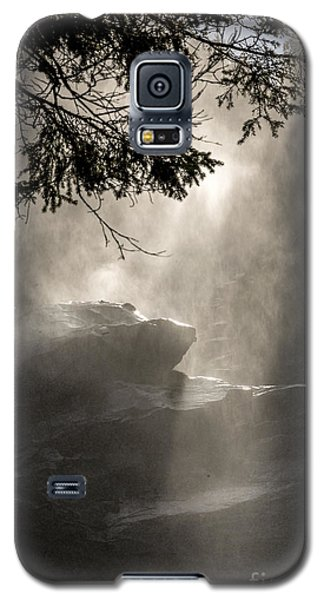 When Sunlight And Water Spray Meet Galaxy S5 Case