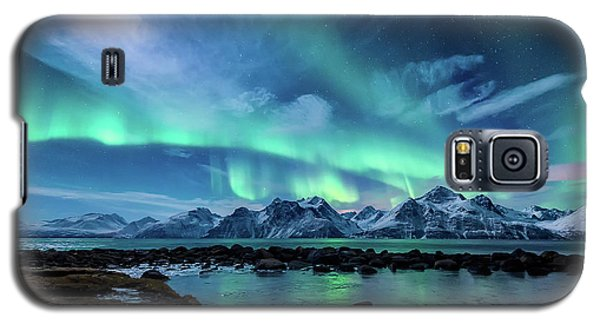Landscape Galaxy S5 Case - When The Moon Shines by Tor-Ivar Naess