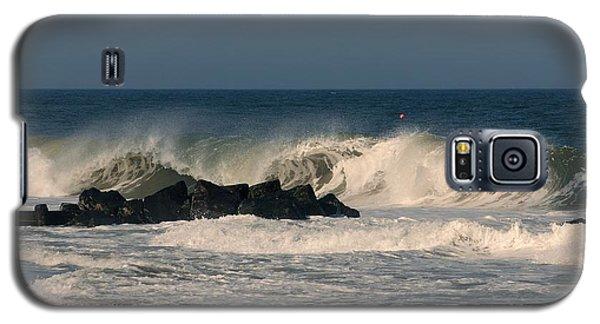 When The Ocean Speaks - Jersey Shore Galaxy S5 Case