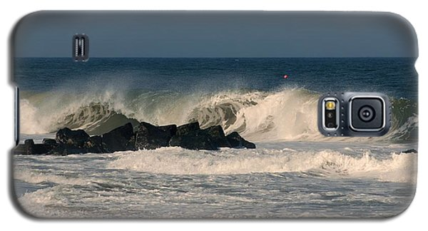 When The Ocean Speaks - Jersey Shore Galaxy S5 Case
