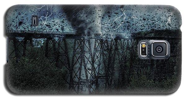 When The Tornado Hit The Bridge Galaxy S5 Case