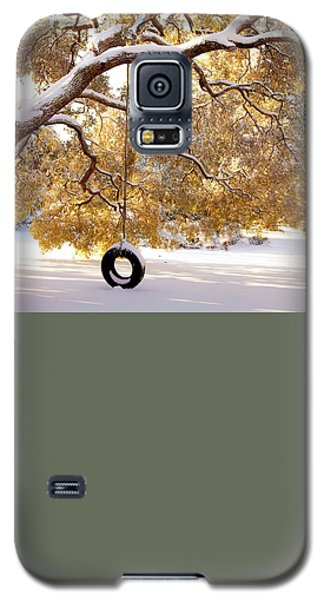 When Winter Blooms Galaxy S5 Case by Karen Wiles