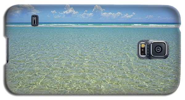 Where Crystal Clear Ocean Waters Meet The Sky Galaxy S5 Case