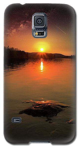 Where Heaven Touches The Earth Galaxy S5 Case by Rose-Marie Karlsen