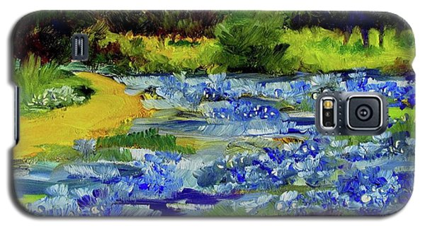 Where The Beautiful Bluebonnets Grow Galaxy S5 Case