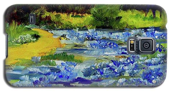 Where The Beautiful Bluebonnets Grow Galaxy S5 Case