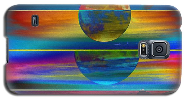 Where The Land Ends Galaxy S5 Case