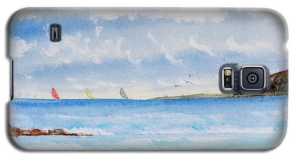 Where There's A Wind, There's A Race Galaxy S5 Case