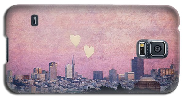 Galaxy S5 Case featuring the photograph Where We Left Our Hearts - Sf Photography by Melanie Alexandra Price