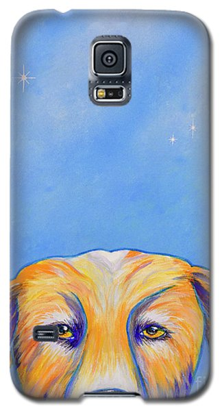 Galaxy S5 Case featuring the painting Where's The Food? by Mary Scott