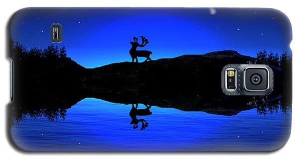 Galaxy S5 Case featuring the digital art Wherever I May Roam by Bernd Hau