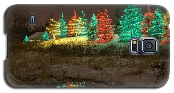 Whimsical Christmas Lights Galaxy S5 Case