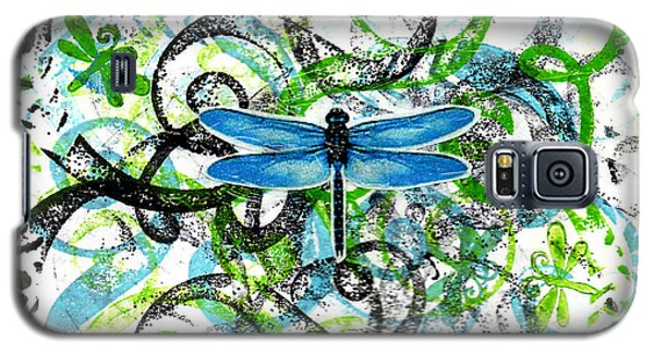 Whimsical Dragonflies Galaxy S5 Case