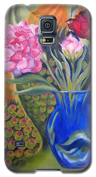 Whimsical Flowers Galaxy S5 Case by Lisa Boyd