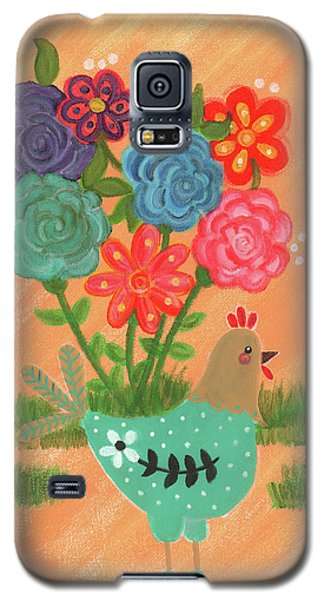 Henrietta The High Heeled Hen Galaxy S5 Case
