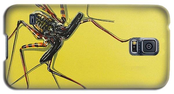 Galaxy S5 Case featuring the painting Whip Scorpion by Jude Labuszewski