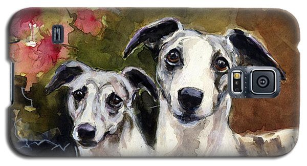 Whippets Galaxy S5 Case by Molly Poole