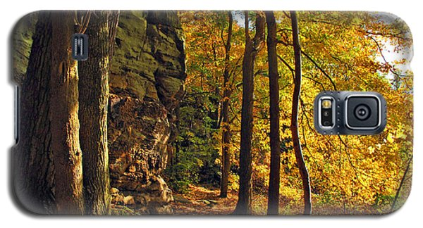 Galaxy S5 Case featuring the photograph Whipp's Ledges In Autumn by Joan  Minchak