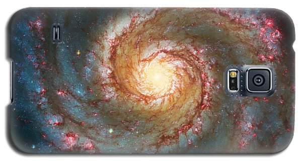 Whirlpool Galaxy  Galaxy S5 Case by Jennifer Rondinelli Reilly - Fine Art Photography