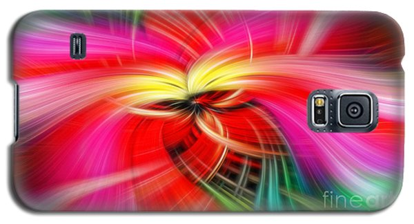 Whirlwind Of Colors Galaxy S5 Case by Sue Melvin
