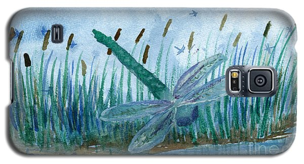 Whispering Cattails Galaxy S5 Case