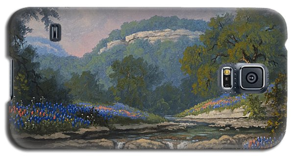 Galaxy S5 Case featuring the painting Whispering Creek by Kyle Wood