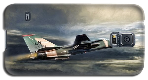 Whispering Death F-111 Galaxy S5 Case by Peter Chilelli