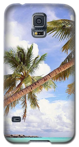 Whispering Palms. Maldives Galaxy S5 Case
