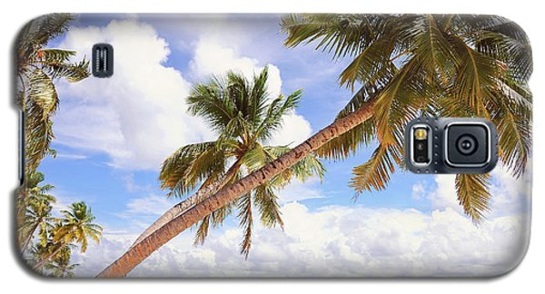 Whispering Palms. Maldives Galaxy S5 Case
