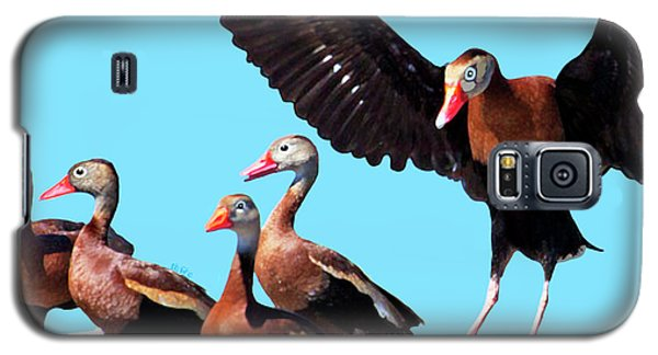 Whistling Ducks Galaxy S5 Case
