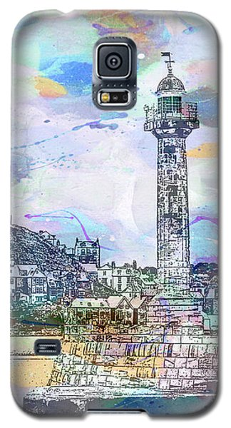 Whitby Harbour Galaxy S5 Case